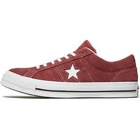 Converse One Star Suede - Burgundy/White - Mens