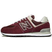 New Balance 574 - red - Mens