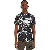Sonneti Action T-Shirt Junior - Black - Kids