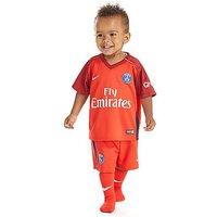Nike Paris Saint Germain 2016/17 Away Kit Infant - Red - Kids