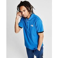 The North Face Core Short Sleeve Polo Shirt - Blue - Mens