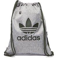 adidas Originals Trefoil Gymsack - Grey/Black - Womens