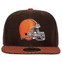 New Era Cleveland Browns 59FIFTY Cap - Brown - Mens