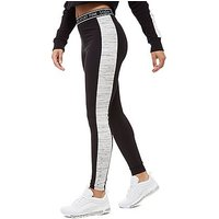 Pink Soda Sport Cut & Sew Leggings - black/grey - Womens