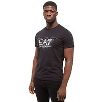 Emporio Armani EA7 Short Sleeve Large Eagle T-Shirt - black - Mens