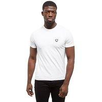 Emporio Armani EA7 Shield Logo T-Shirt - white - Mens