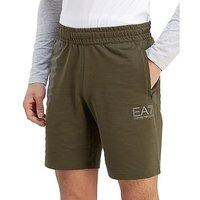 Emporio Armani EA7 7 Lines Shorts - Khaki/White - Mens