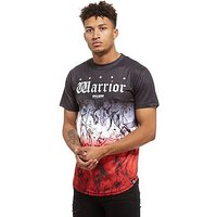 Supply & Demand Trio Smoke T-Shirt - Black/White/Red - Mens