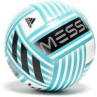 adidas Messi 10 Glider Football - White/Blue/Black - Mens