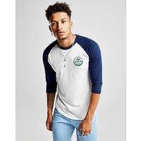 adidas Originals Skateboarding Diecon 3/4 Sleeve T-Shirt - White/Navy - Mens
