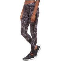 hpe Black Snake X Leggings - Black - Womens
