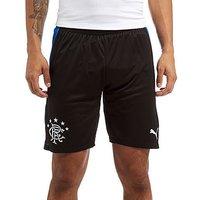 PUMA Rangers 17/18 Third Shorts - Black/Blue - Mens