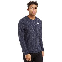 The North Face Long Sleeve Box T-Shirt - Blue/White - Mens