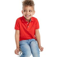 Tommy Hilfiger Small Flag Polo Shirt Children - Red - Kids