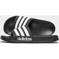 adidas Cloudfoam Adilette Slides Herren - schwarz - Mens, schwarz