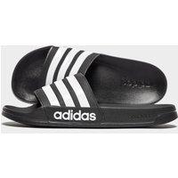 adidas Cloudfoam Adilette Slides - Black - Mens, Black