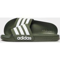 adidas Cloudfoam Adilette Slides - Green - Mens, Green