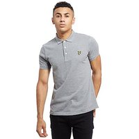 Lyle & Scott Core Polo Shirt - Marl Grey - Mens
