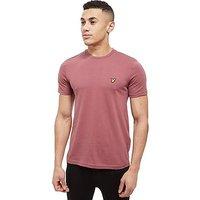 Lyle & Scott Core T-Shirt - Burgundy - Mens