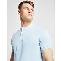 Fred Perry Bomber Collar Polo - Light Blue - Mens