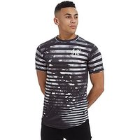 Sonneti Barred T-Shirt - Black/White - Mens
