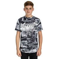 Sonneti Cliff T-Shirt Junior - Black/White - Kids
