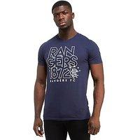 Source Lab Rangers FC Logo T-Shirt - Blue - Mens