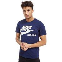 Nike Futura Just Do It T-Shirt - Blue - Mens