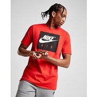 Nike Air Box Logo T-Shirt - Red/Black - Mens