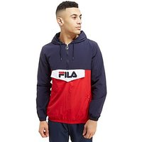 Fila Anderson 1/4 Zip Jacket - Navy/Red/White - Mens