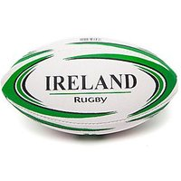 Daricia Mini Ireland Rugby Ball - White/Green - Kids
