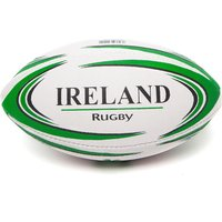 Daricia Mini Ireland Rugby Ball - White/Green - Mens, White/Green