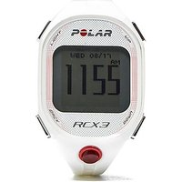 Polar RCX3 GPS Heart Rate Monitor Watch - White - Womens