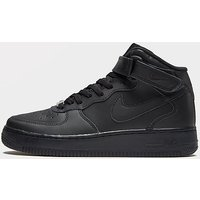 Nike Air Force 1 Mid Junior - Black/Black - Kids
