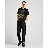 Nike Hazard T-Shirt - Black/Yellow - Mens