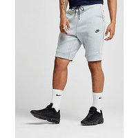 Nike Tech Fleece Shorts - Grey - Mens
