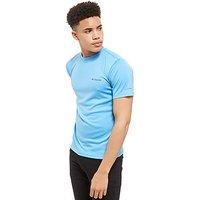 Columbia Short Sleeve Poly Tech T-Shirt - Blue - Mens
