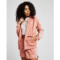 adidas Originals Superstar Track Top - Pink/White - Womens
