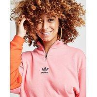 adidas Originals Colorado 1/2 Zip Top - Pink/Orange - Womens