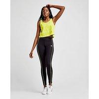 adidas Originals Piped Leggings - Black/Yellow - Womens