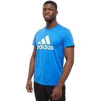 adidas Performance T-Shirt - blue/white - Mens
