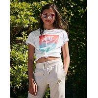 Nike Girls Sunset Futura T-Shirt Junior - Kids