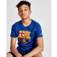 Nike FC Barcelona Crest T-Shirt Junior - Blue - Kids
