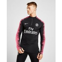 Nike Paris Saint Germain 2018/19 Aeroswift Drill Top - Black/Pink