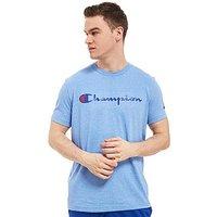 Champion Core Script T-Shirt - blue - Mens