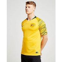 Nike Australia 2018 Home Shirt - Gold - Mens