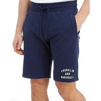Franklin & Marshall Core French Terry Shorts - Navy - Mens