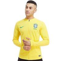 Nike Brazil Anthem Jacket - Yellow - Mens