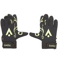 Daricia Karakal Gaelic Gloves Junior - Black/Lime or Blue - Kids