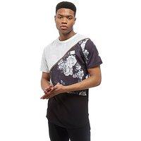Supply & Demand Bouquet Split T-Shirt - White/Black - Mens